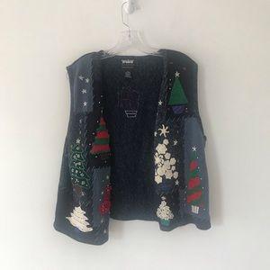 Designer originals studio sweater vest